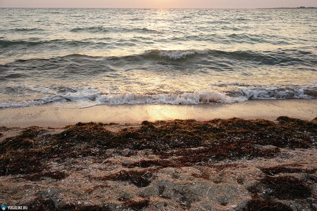 Крым, Межводное, море