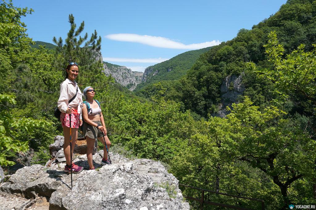 Йога-поход, Большой каньон Крыма