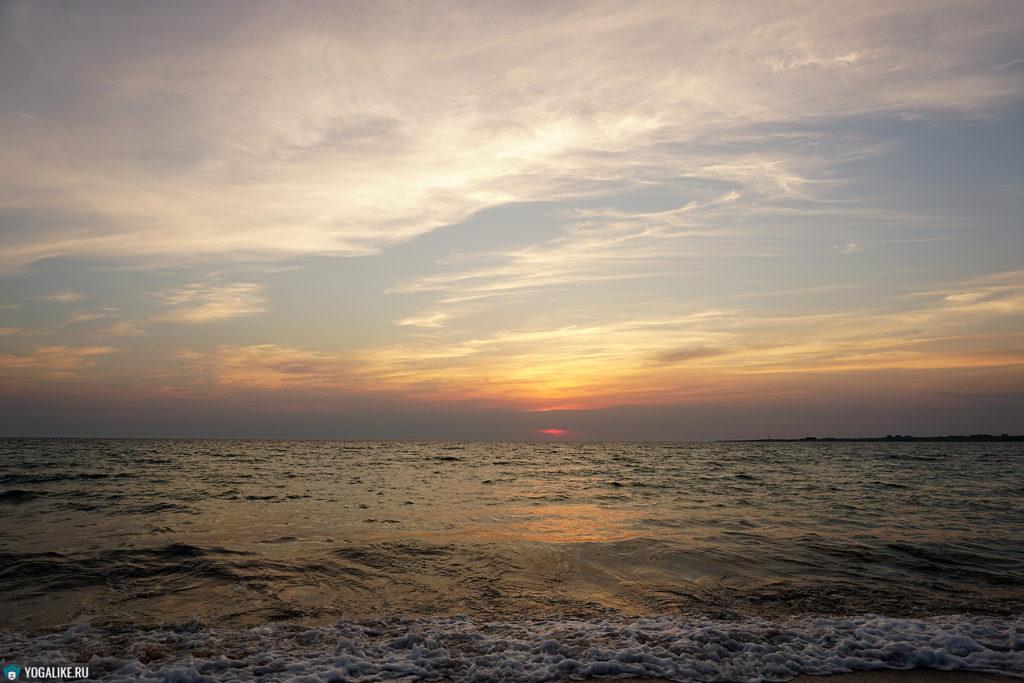 Закат, Крым, Межводное