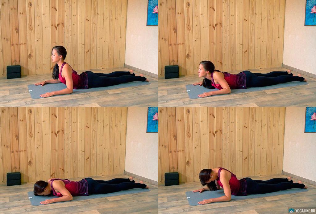 Упражнение для расслабления шейно-воротниковой зоны