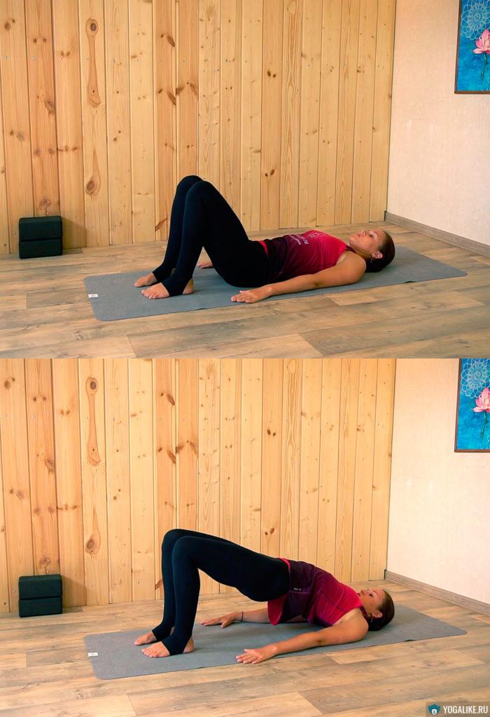 """Упражнение для спины """"Скотч"""""""