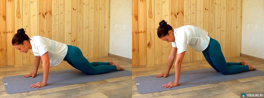 Тренировка спины для балансов на руках